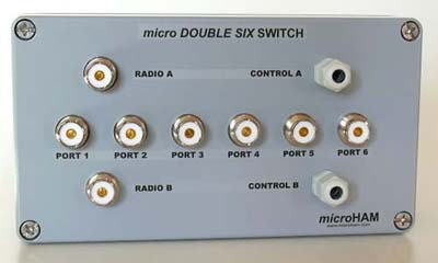 microHAM DOUBLE SIX SWITCH