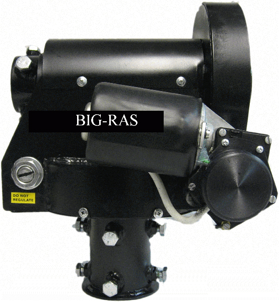 BIG-RAS - Azimuth and Elevation combo rotator